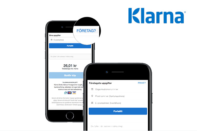 Activate B2B in Klarna Checkout