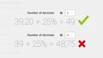 Decimals in WooCommerce
